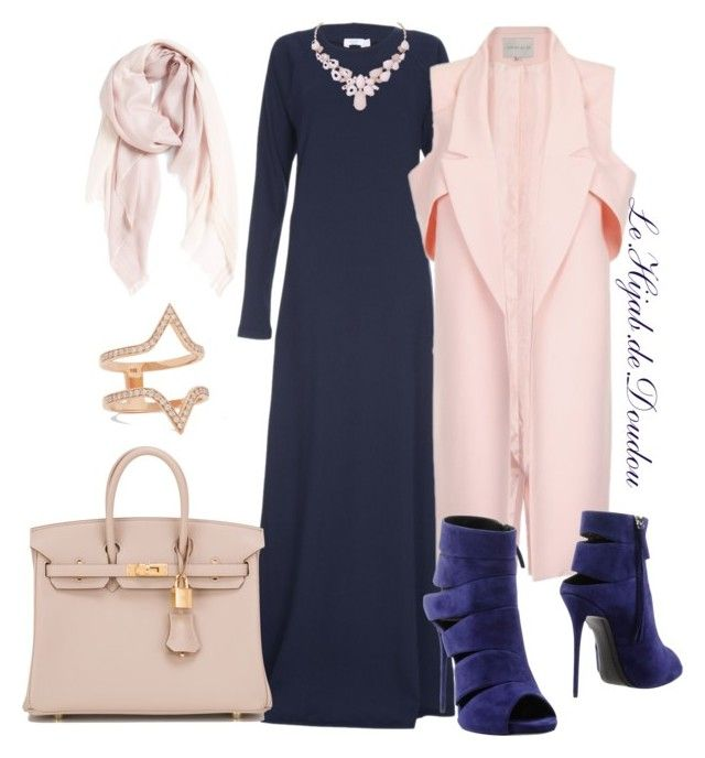 """""""Hijab Outfit"""" by le-hijab-de-doudou ❤ liked on Polyvore featuring Hermès, Nordstrom, Carbon & Hyde, Humble Chic, Giuseppe Zanotti, women's clothing, women's fashion, women, female and woman"""