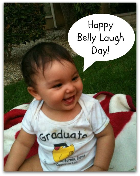 Happy Global Belly Laugh day! Find out what's so funny, and