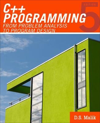 C++ Programming 5th edition by DS Malik Pdf Download