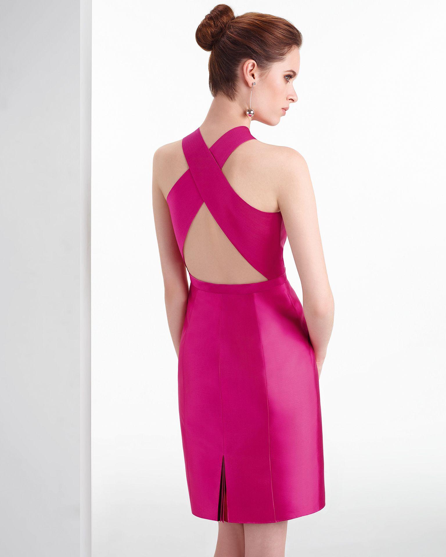 Vestido de fiesta color fucsia | ropa mia | Pinterest | Aire ...