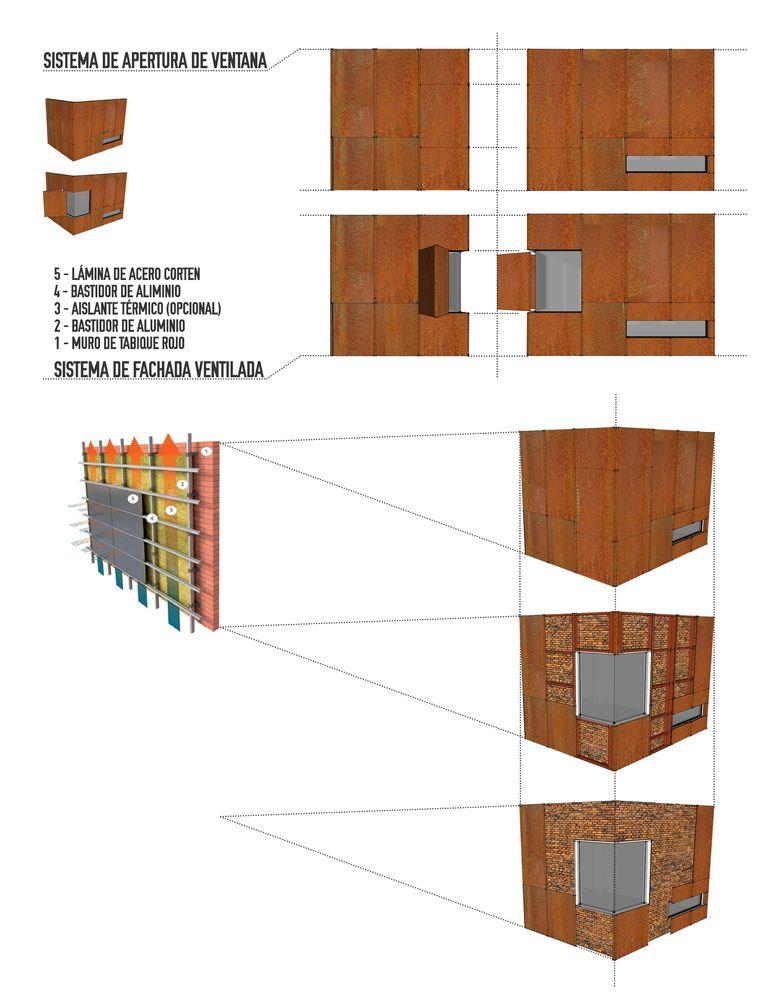 Casa Estudio Choi Leon Mexico Cubo Rojo Arquitectura Facade House Studio