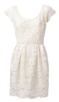 23e99f554 witchery white lace dress   Wedding dresses   White lace cocktail ...
