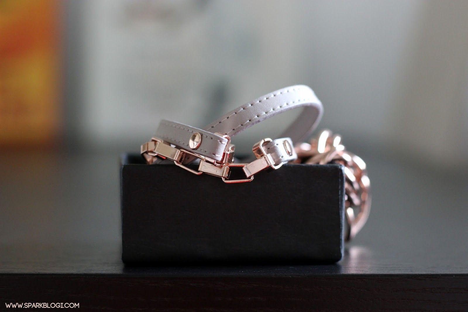 SNÖ OF SWEDEN. beautiful rosegold bracelet!