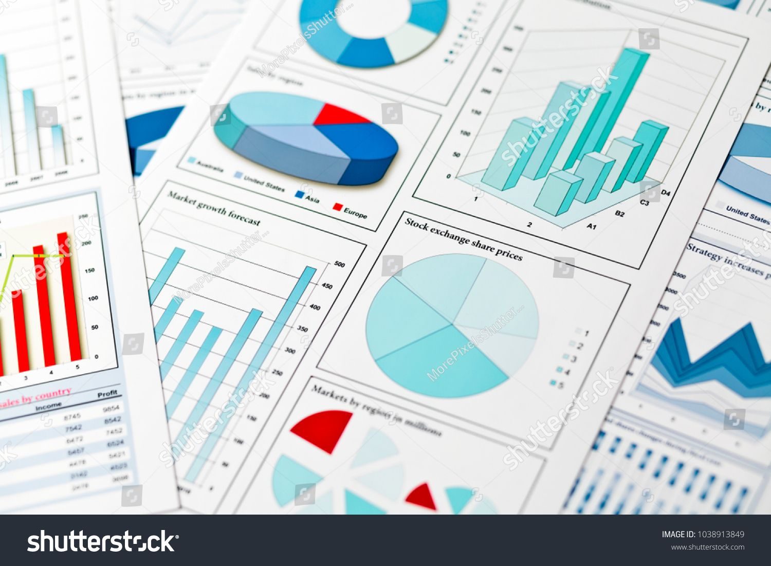 Graphs And Charts Finance Concept Charts Graphs Concept Finance