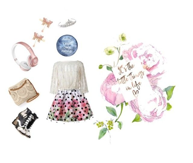 """""""Untitled #1"""" by kavalreddy-sriya-reddy ❤ liked on Polyvore featuring RED Valentino, STELLA McCARTNEY, Dolce&Gabbana, Monsoon, Nina and Beats by Dr. Dre"""