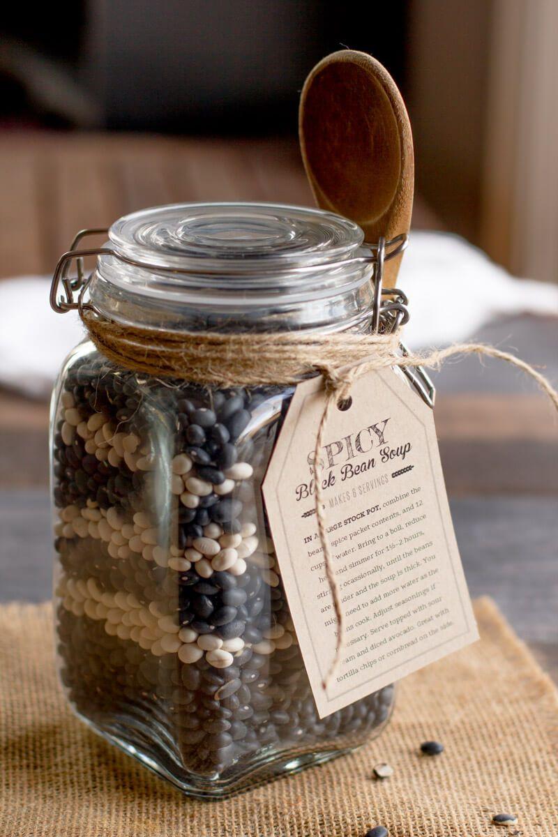 37 diy vegan christmas gift ideas edible soup in a jar