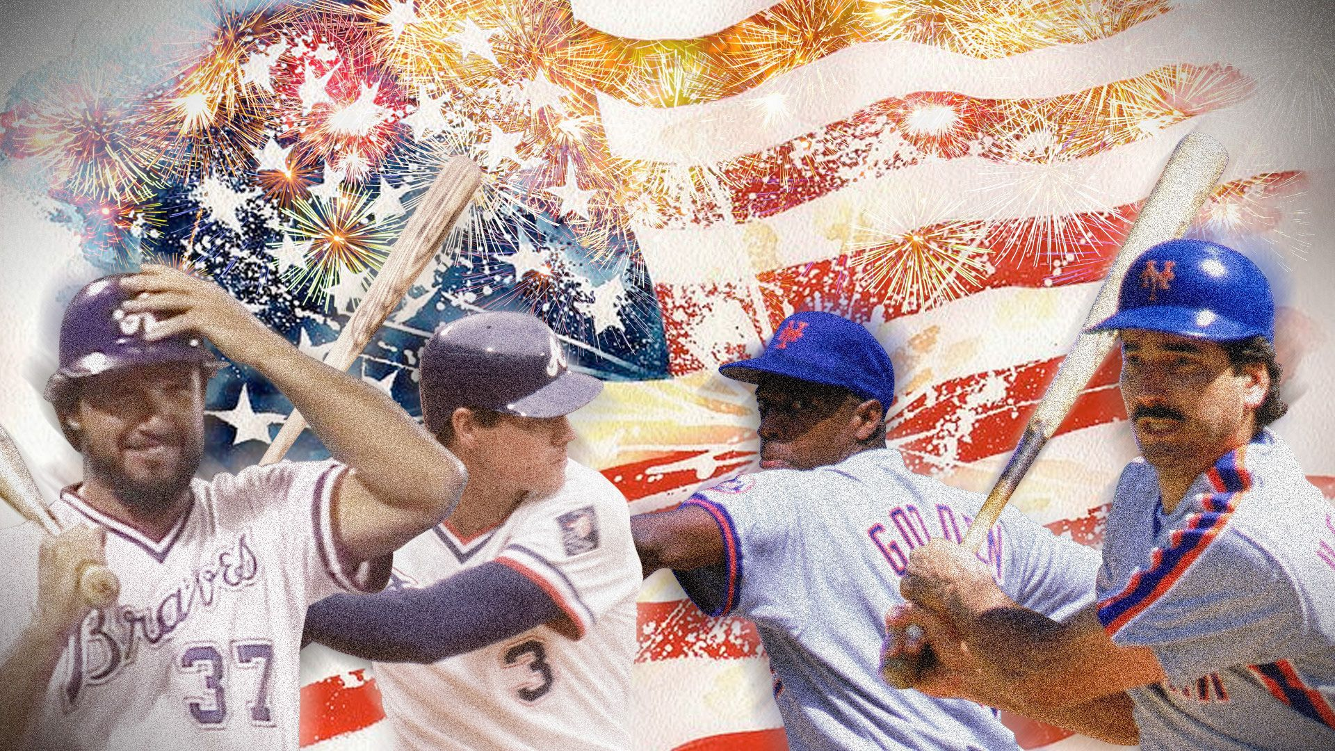 July 4 1985 19 Things You Might Not Remember About Epic Mets Braves Game Braves Game Braves Mets