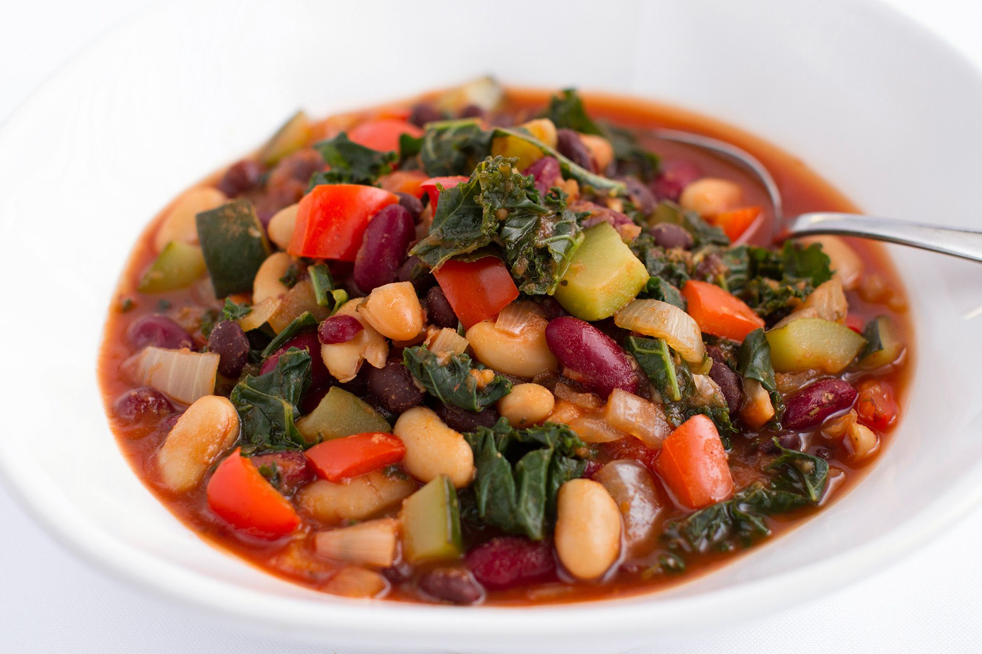This simple, inexpensive pot of beans is rich in filling plant protein and cholesterol-reducing fiber. Use them as a base for hearty soups or chili.