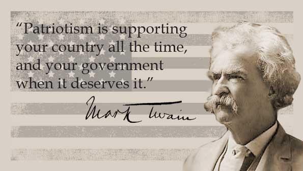 Mark Twain Archives Common Sense Evaluation Mark Twain Quotes Mark Twain Quotes Life Patriotic Quotes