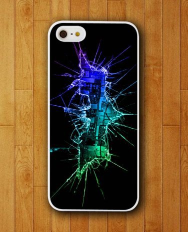 Batman Logo Virtual Glass Crack iPhone Cover iPhone Skin Protector for iPhone 4 4S 5 5S 5C . http://www.gajetto.nl ✿