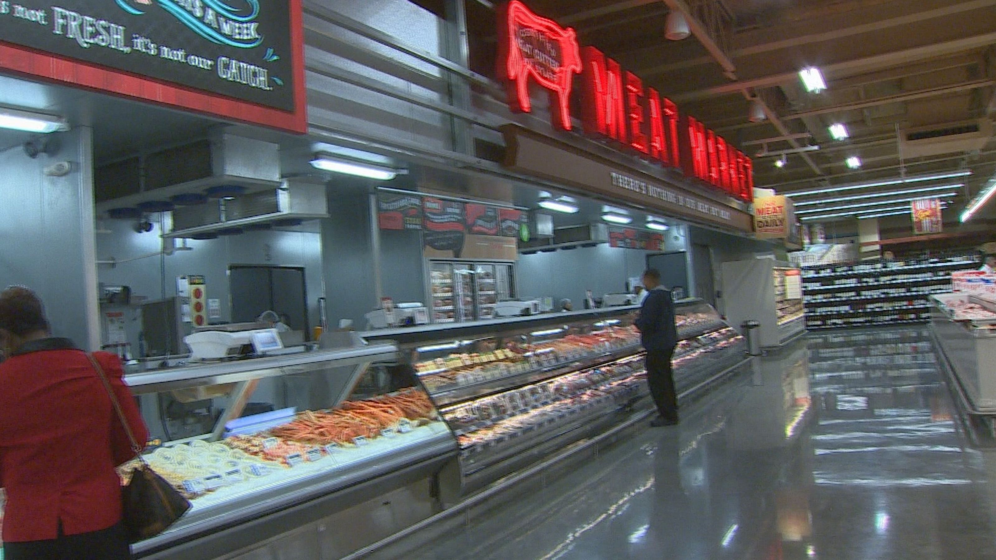New Houston HEB Grocery Store - It has a restaurant, live music stage and a big vertical garden