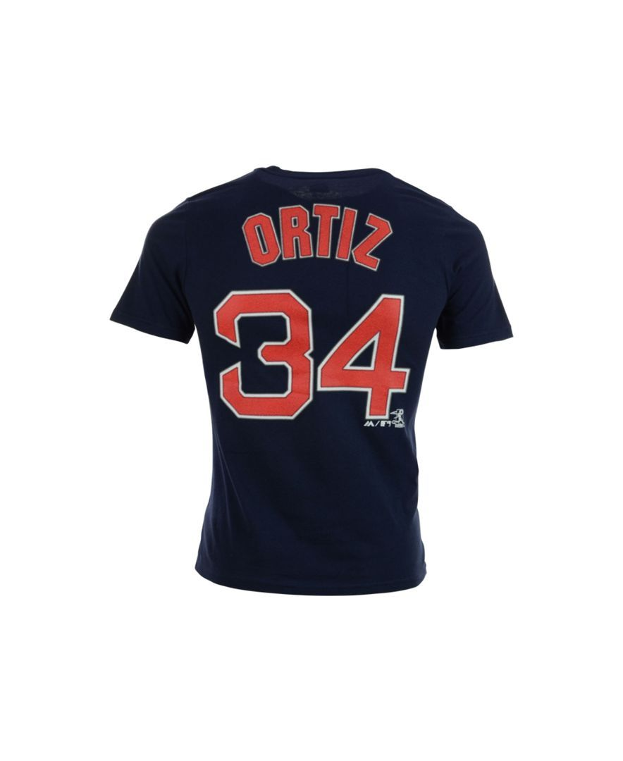 1f7a171c638 Majestic Kids  David Ortiz Boston Red Sox Official Player T-Shirt ...