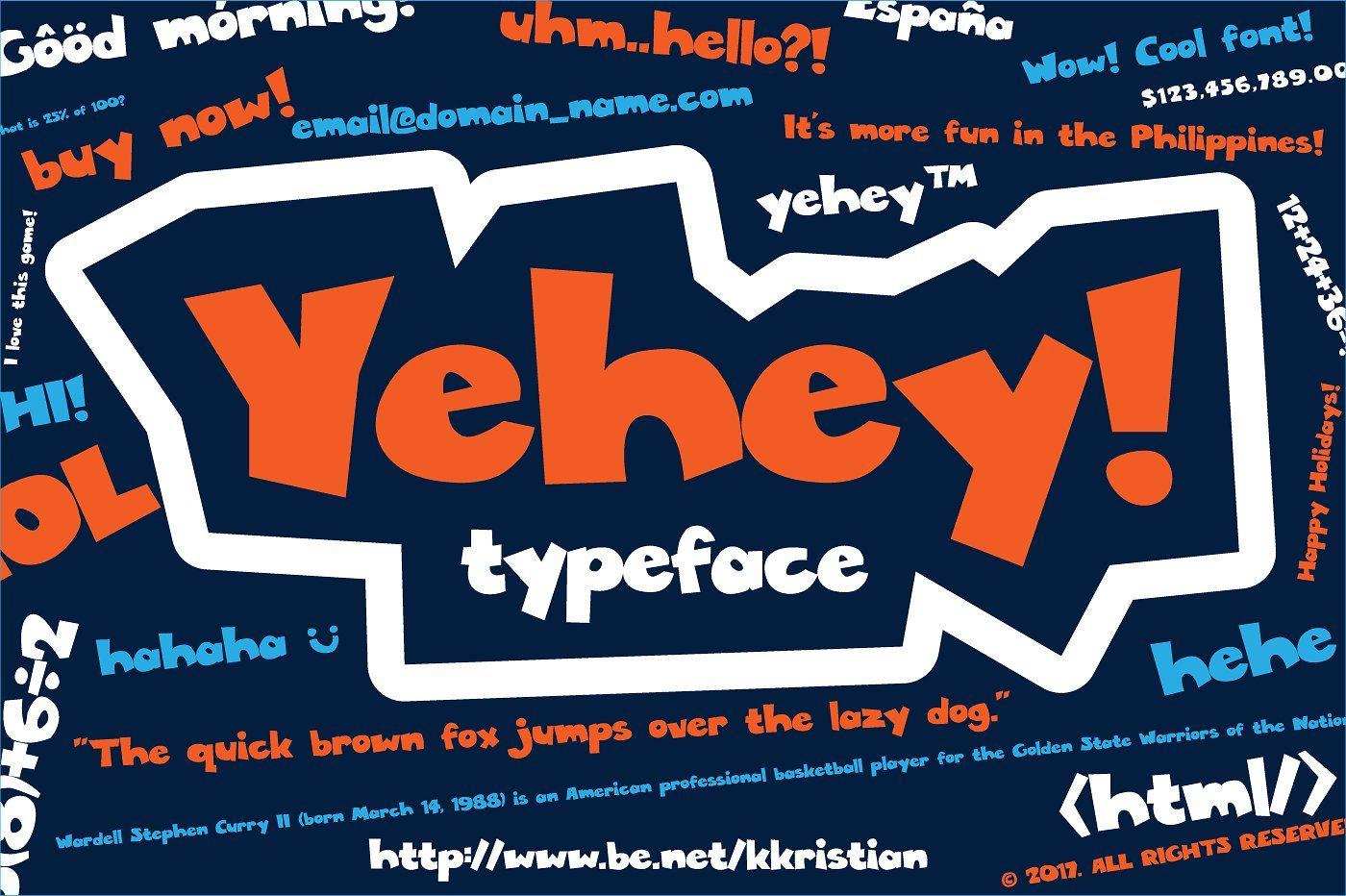 Yehey Sans Serif Fonts Serif Fonts Lower Case Letters