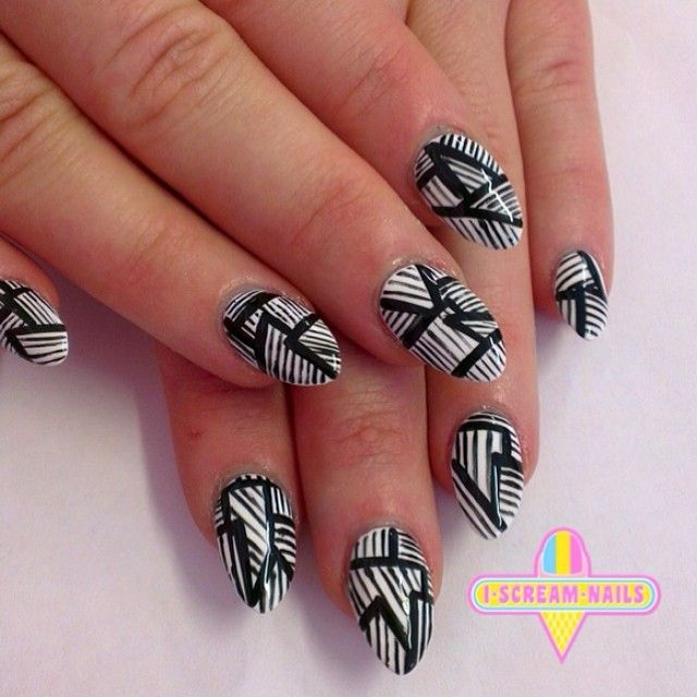 OMG ! These amazing nails for @gemgemyellowgem #nails #nailart #nailpolish #melbourne #melbournenailart #iscreamnails