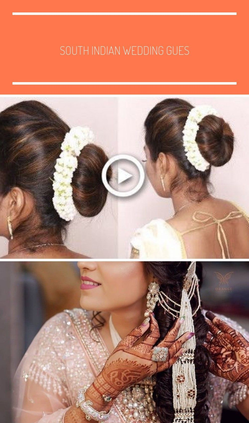 South Indian Wedding Guest Hairstyles Tamil Puff With Bun Hairstyles Puff Hairstyle Tricks Wedding Hair Hair Puff Wedding Guest Hairstyles Bun Hairstyles