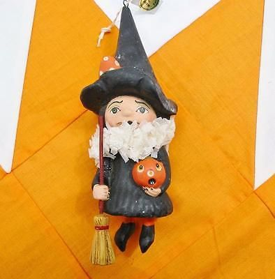 Bethany Lowe Happy Halloween Ornament Debra Schoch Little Witch with - lowes halloween