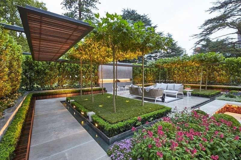 Garten und Landschaftsbau spannendes Projekt aus