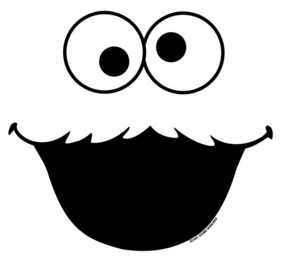 Cookie Monster face: http://teezeria.com/images/designs/395img_20 ...