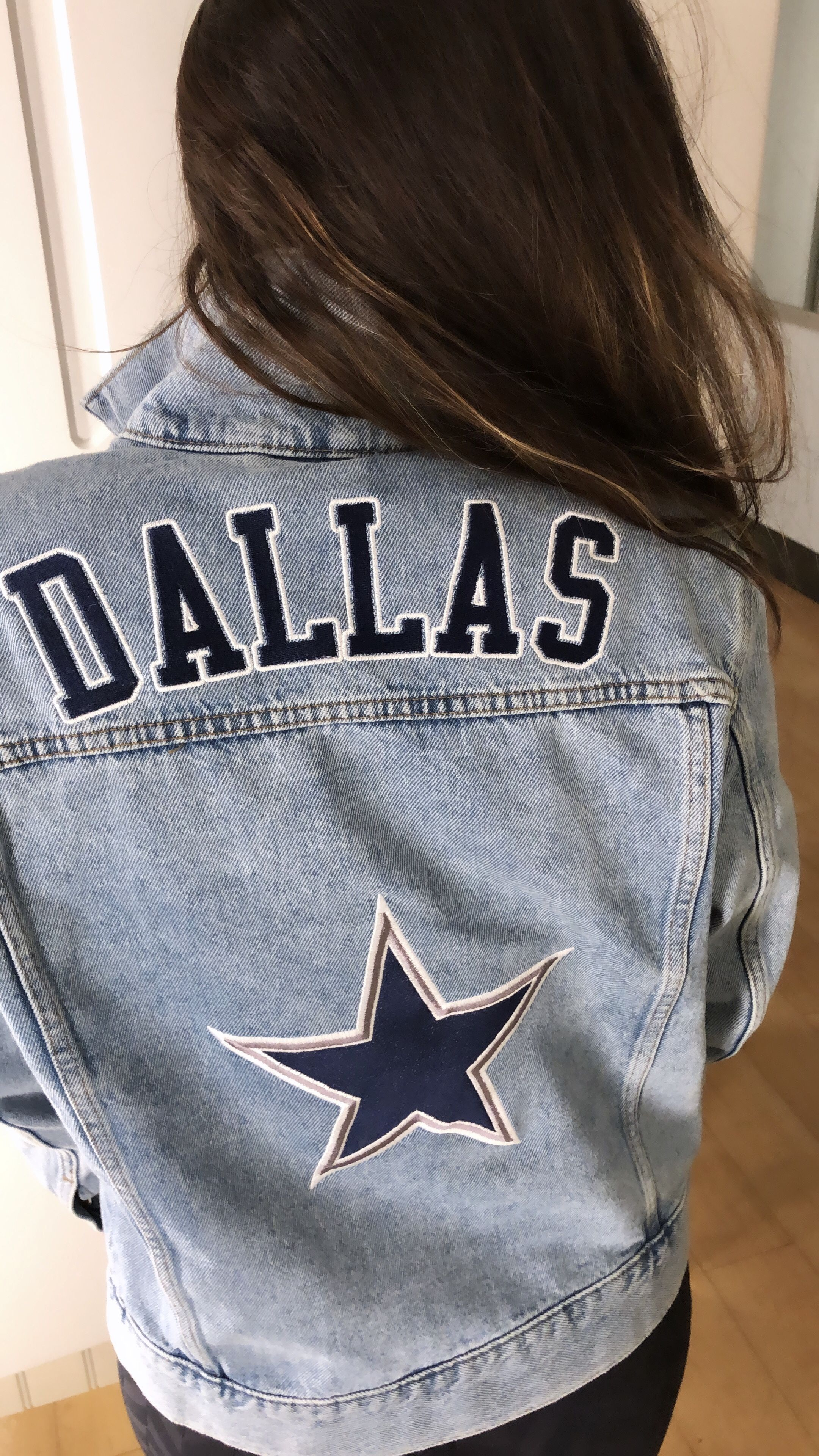 Custom Denim Jackets Dallascowboys Diy Denim Jacket Custom Denim Jackets Custom Denim Jacket [ 3840 x 2160 Pixel ]