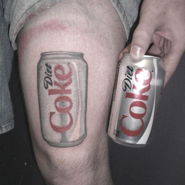 Diet Coke Can Tattoo!