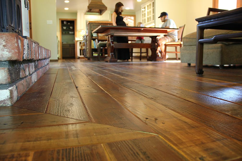 Heirloom Rewood Reclaimed Wood Floor In Santa Rosa Ca Rewood