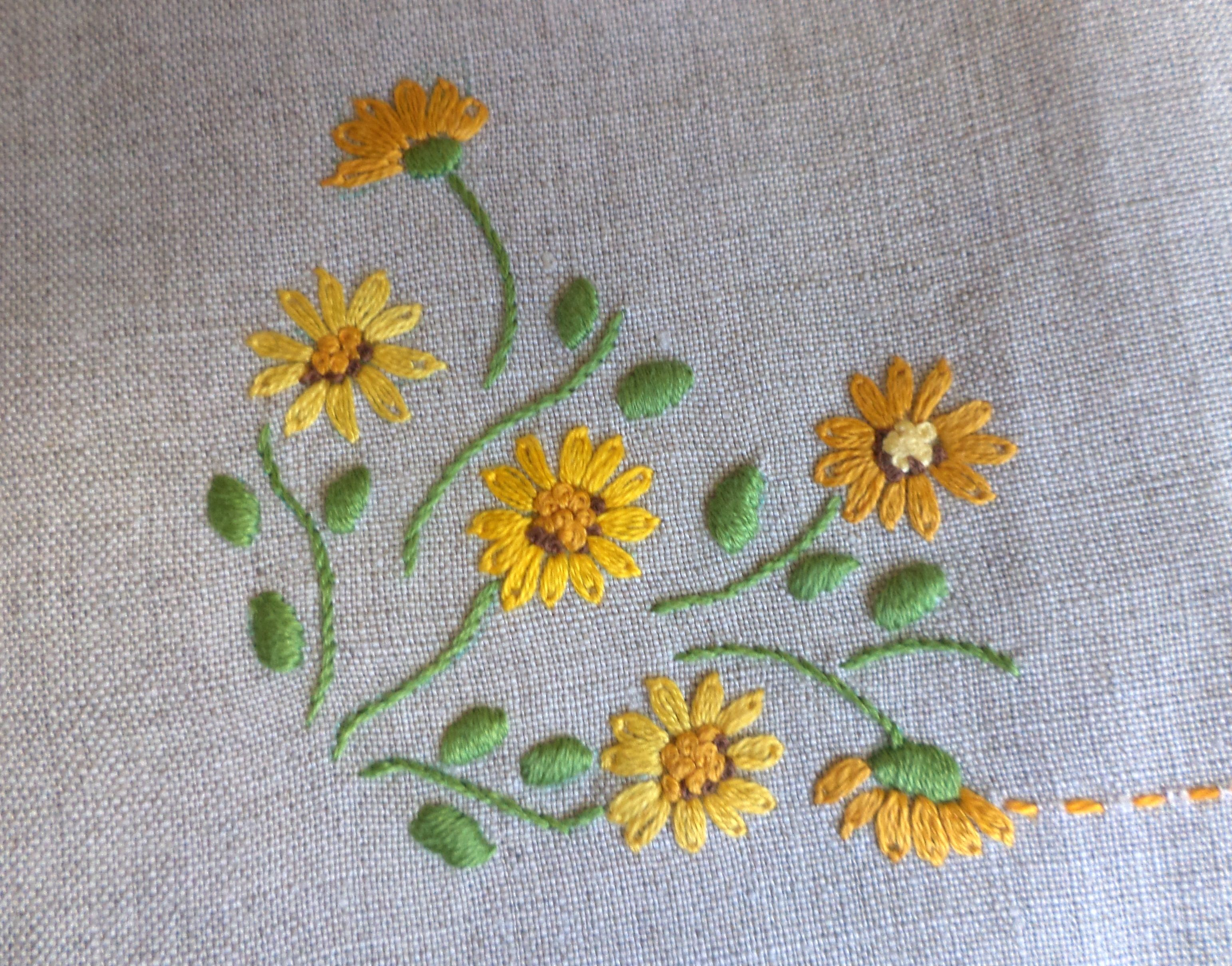 Pin By Janaki Bandari On Stitches 3 Pinterest Embroidery Hand