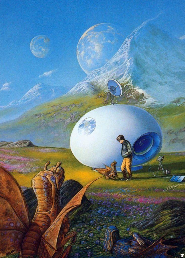 мир фантастики рисунки особым чувством