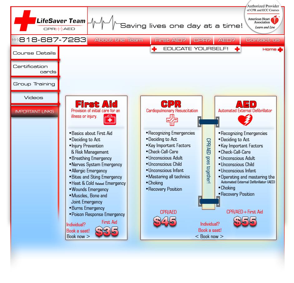 Cpr Classes Los Angeles 91303 Lifesaver Team Cpr 818 687 7283