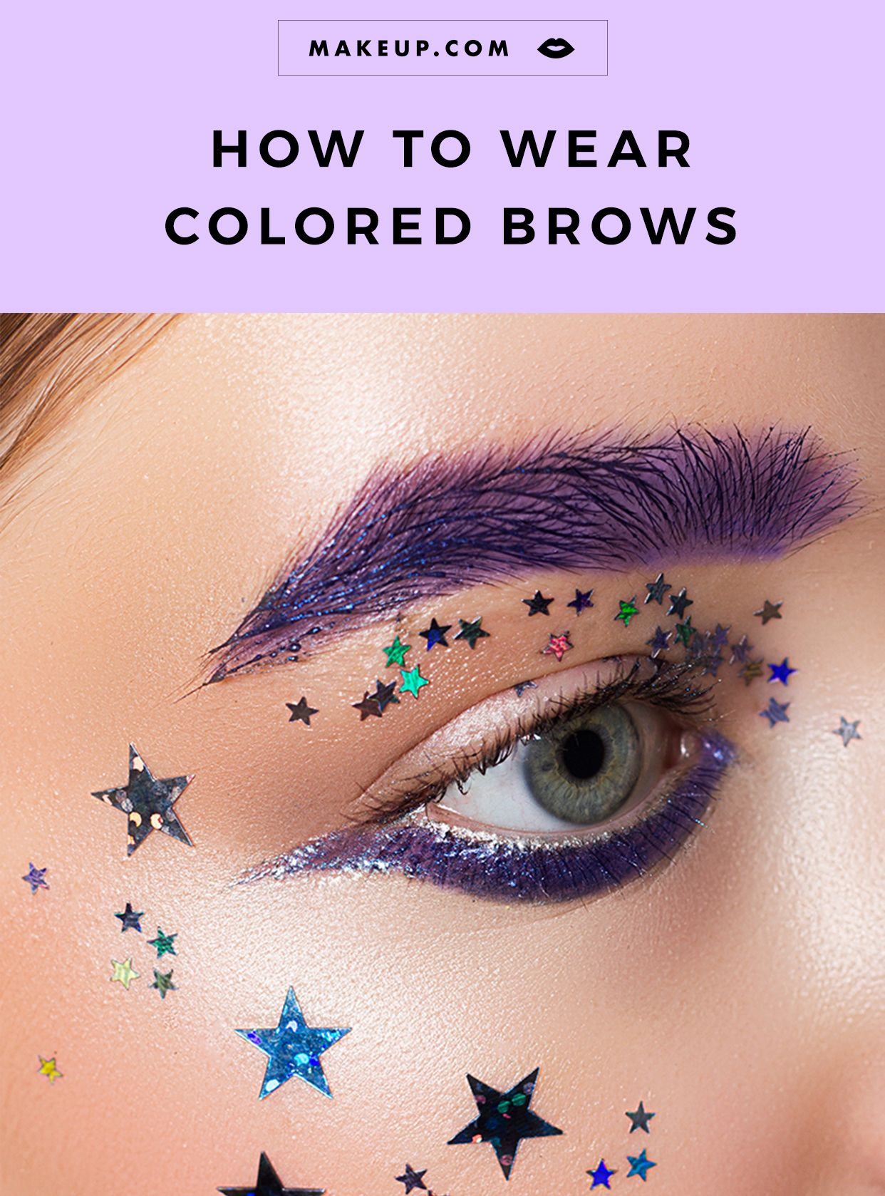 Anyone Can Try The Colored Brow Trend Here S How Makeup Com By L Oreal How To Color Eyebrows Eyebrow Makeup Brows