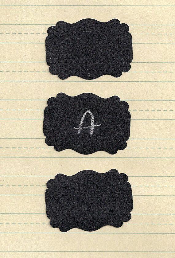 24 Blackboard Stickers Chalk Board By GreenRidgeDesigns On Etsy 650
