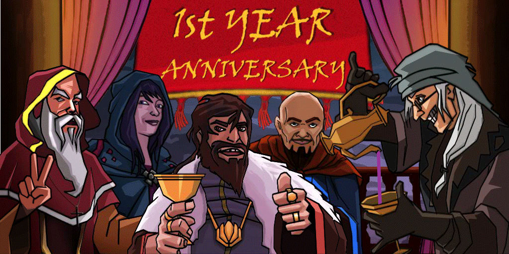 It's Throne of Lies Game's 1year anniversary Major v2.0
