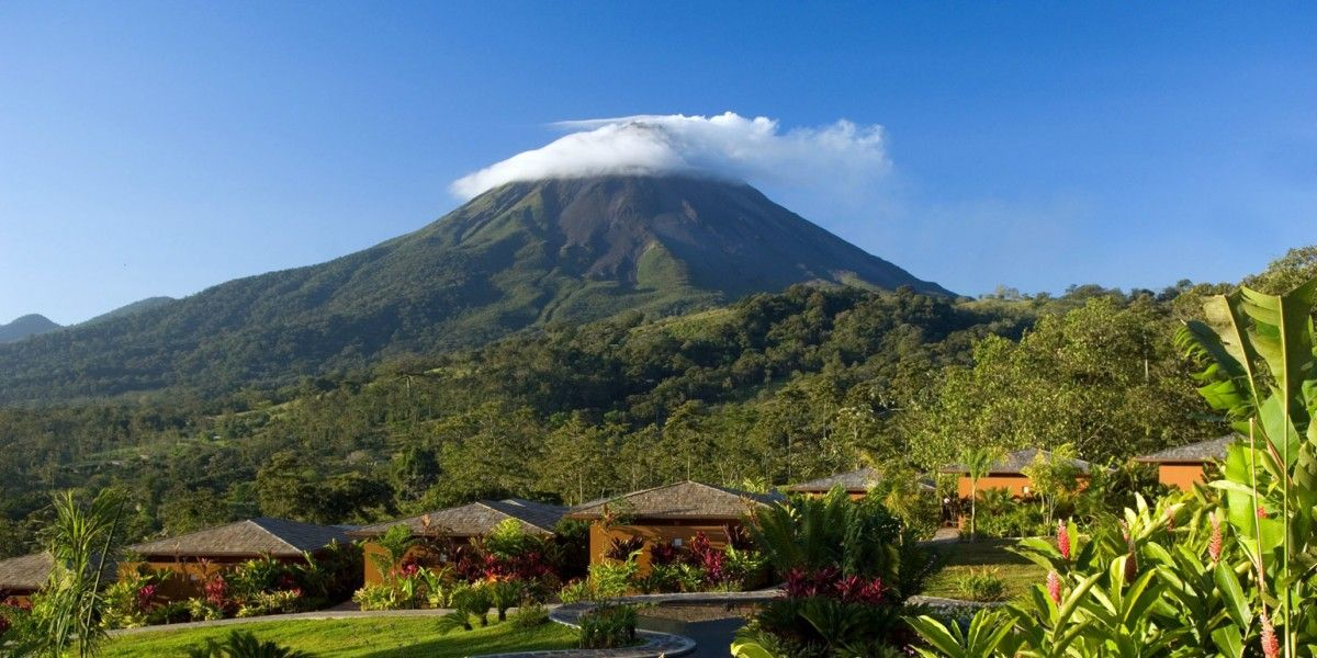 Nayara Hotel Spa Gardens San Carlos Costa Rica In The Shadow Of Arenal Volcano Is A Romantic Bungalow Style Resort