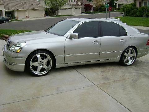 CA 2003 Lexus LS430 Ultra Luxury Wald VIP - Club Lexus