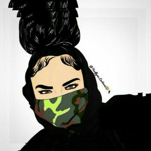 N'Queens 👑🥀 Black girl art, Black art pictures, Trill art