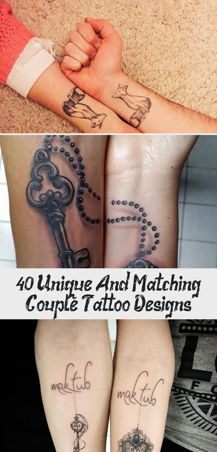 unique-and-matching-couple-tattoo-designs #tattoodesignsColor #Hennatattoodesign... - #Hennatattoodesign #tattoodesignsColor #uniqueandmatchingcoupletattoodesigns