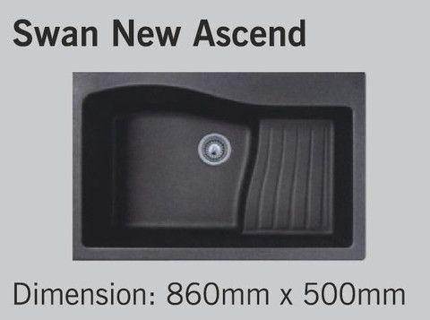 Carysil Swan New Ascend - Metallic Crome
