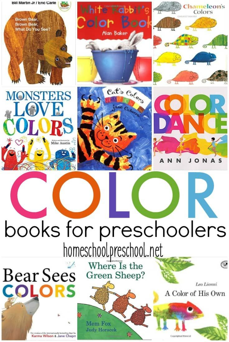 15 of the Best Color Books for Preschoolers | Reading aloud, Books ...