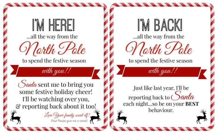 photograph regarding Letters From Elf on the Shelf Printable called 4 Wonderful printable elf upon the shelf arrival letter