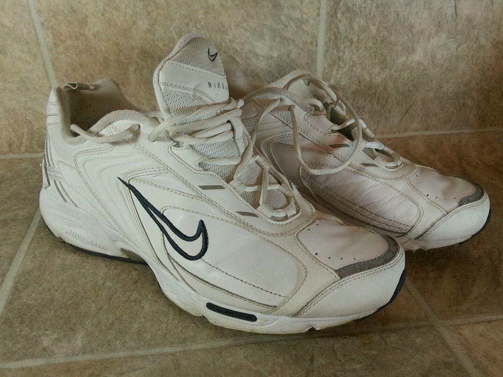 big sale 71892 737f9 Nike Air Walk Shoes 10 White Rolling Rail Mens 307881-111  NikeAirWalk   Walking