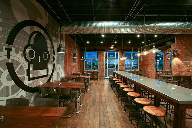 Tin Man Brewing Company Tasting Room Interior Design