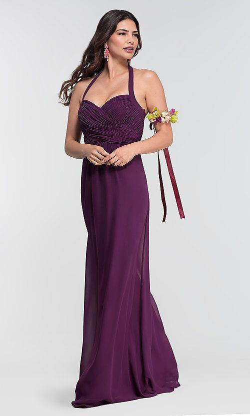 4a23164cbbe Image of chiffon bridesmaid dress by Kleinfeld  limited availability.  Style  KL-200004