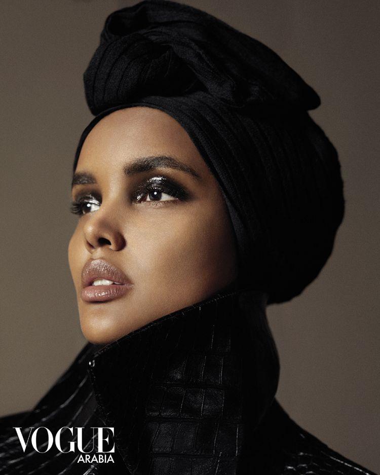 Halima Aden / Vogue Arabia Hijabi Supermodel, Hijab-Wearing Model, Muslim Vogue Model, Muslim Model