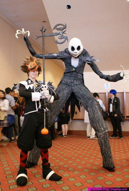 Sora Nightmare Before Christmas Costume.Jack And Sora The Nightmare Before Christmas My Fav Movie