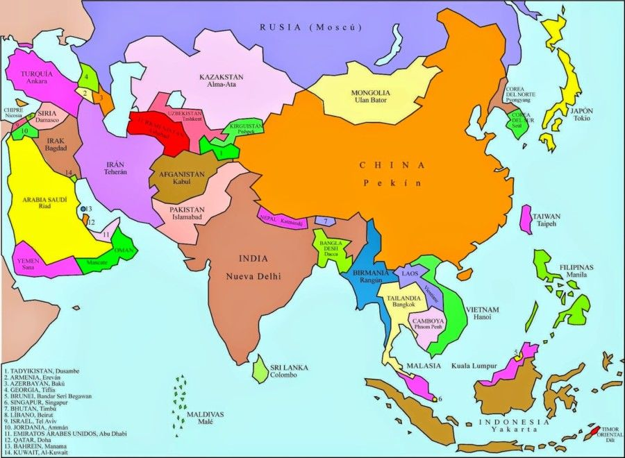 Mapas Para Imprimir Mapamundi Continentes Mapas