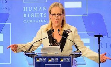 Hollywood Elite Meryl Streep Compares Trump Supporters to Nazi Brownshirts – Complains About Being Targeted as Audience Cheers Her Wildly (VIDEO)  Jim Hoft Feb 12th, 2017