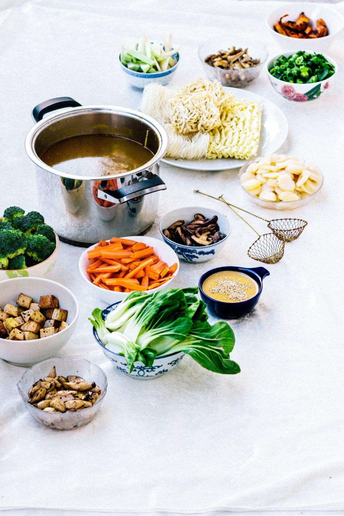 Vegan Chinese Hot Pot Recipe Hot pot, Whole food diet