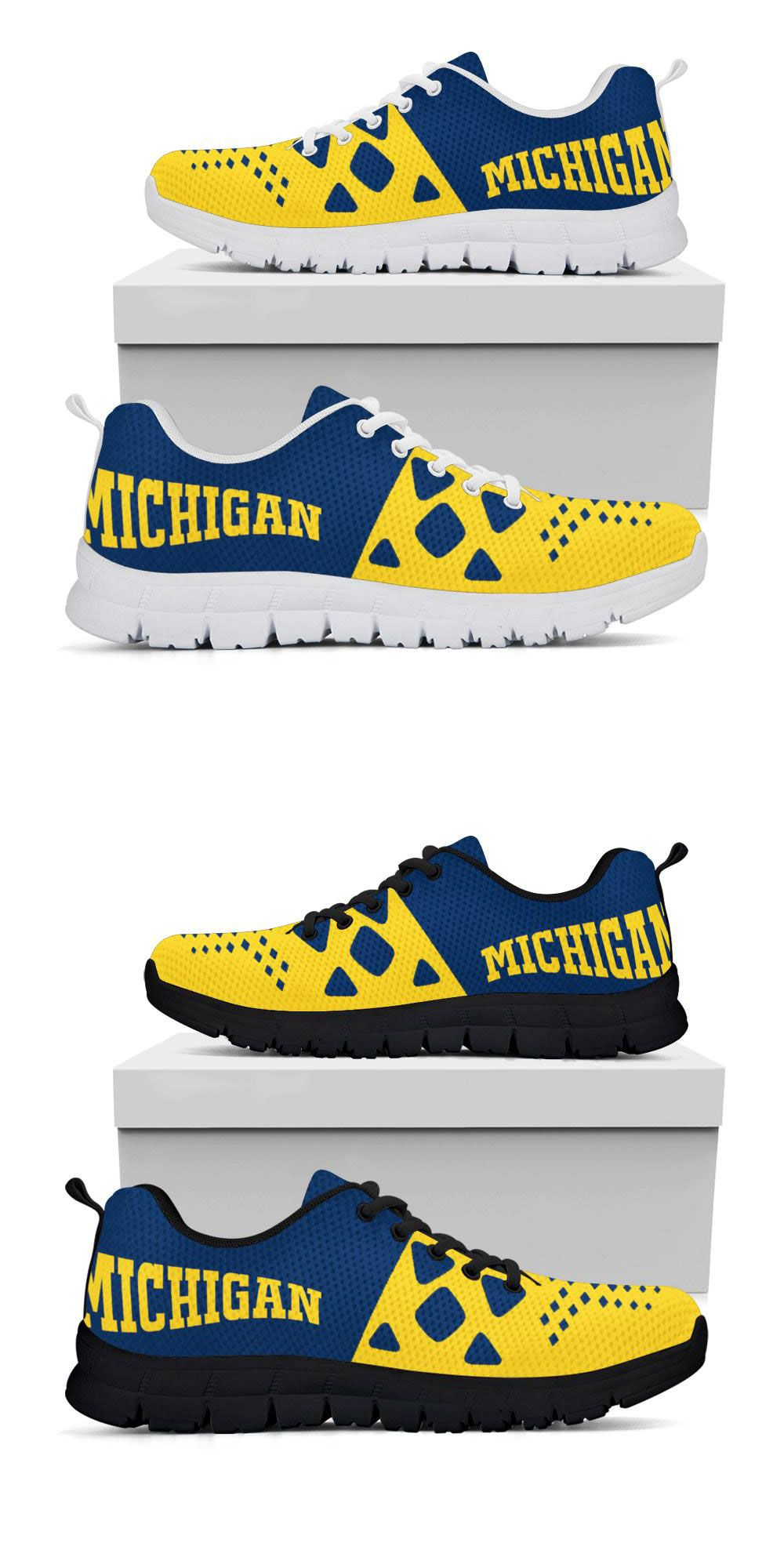 Michigan Running Shoes | Michigan Gear | Green bay packers