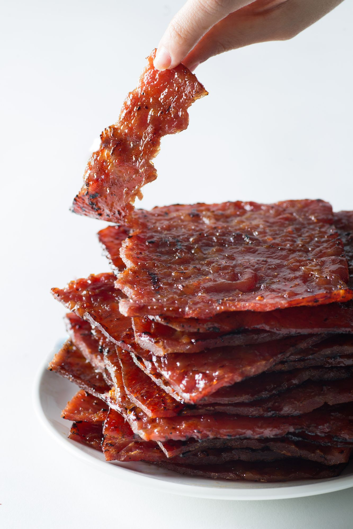 Had This Before Asian Pork Jerky Aka Bak Kwa Way Softer Juicier And More Aromatic Than Western Jerky R Food Pork Jerky Asian Pork Food