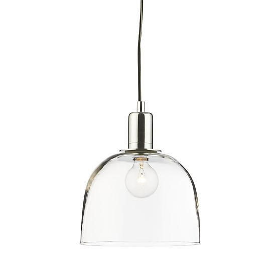 Dunn Pendant Light  | Crate and Barrel - classy - traditional and modern at the same time