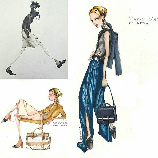 Finally those are chosen among my works for new fashion illustration book :) #fashionillustrator #fashionillustration #fashionsketch #mywork #artists #fashionillustrationbook #artwork  #패션일러스트 #패션일러스트레이션 #패션일러스트레이터 #일러스트레이터 #일러스트작가 #패션일러스트작업